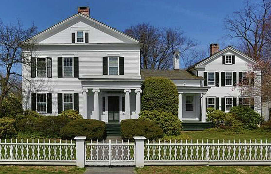The property at 104 Old South Road was recently sold for $2 million. Photo: Contributed Photo / Fairfield Citizen