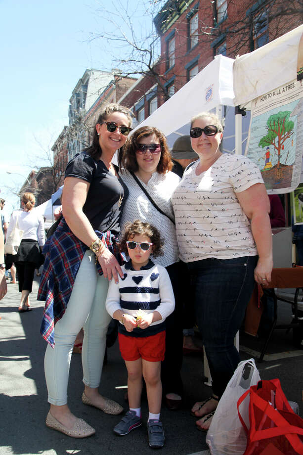 Were you Seen at the outdoor opening of the Troy Waterfront Farmers' Market on River Street in Downtown Troy on Saturday, May 2, 2015? Photo: Troy