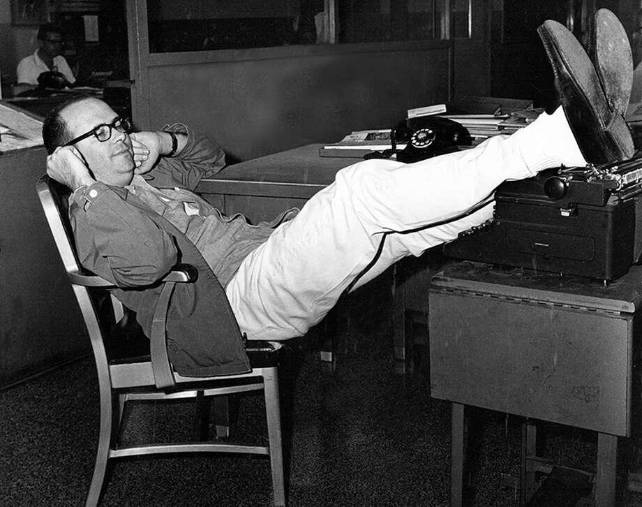 David McHam at Baylor in 1967.