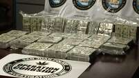 In April, San Juan police seized nearly $800,000 from a Mexican man headed to Mexico to pay off a drug cartel. The money was found in a hidden compartment of his truck.