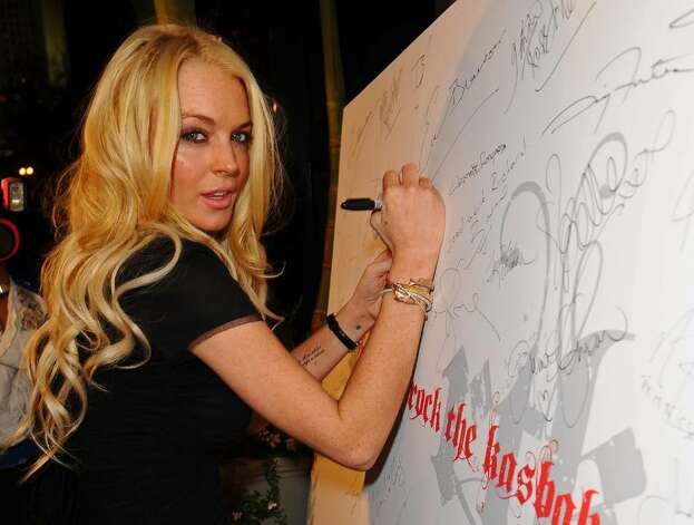 "LOS ANGELES, CA - OCTOBER 26:  Actress Lindsay Lohan arrives at ""Rock The Kasbah"" hosted by Sir Richard Branson and Eve Branson held at Vibiana on October 26, 2009 in Los Angeles, California.  (Photo by Michael Caulfield/Getty Images for Virgin Unite) *** Local Caption *** Lindsay Lohan Photo: Michael Caulfield, Getty Images For Virgin Unite / 2009 Getty Images"