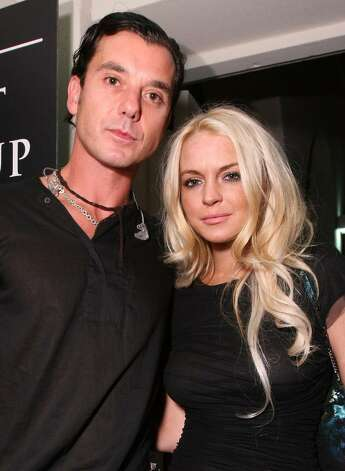 "LOS ANGELES, CA - OCTOBER 26:  Musician Gavin Rossdale and actress Lindsay Lohan attend ""Rock The Kasbah"" hosted by Sir Richard Branson and Eve Branson held at Vibiana on October 26, 2009 in Los Angeles, California.  (Photo by Alexandra Wyman/Getty Images for Virgin Unite) *** Local Caption *** Gavin Rossdale;Lindsay Lohan Photo: Alexandra Wyman, Getty Images For Virgin Unite / 2009 Getty Images"