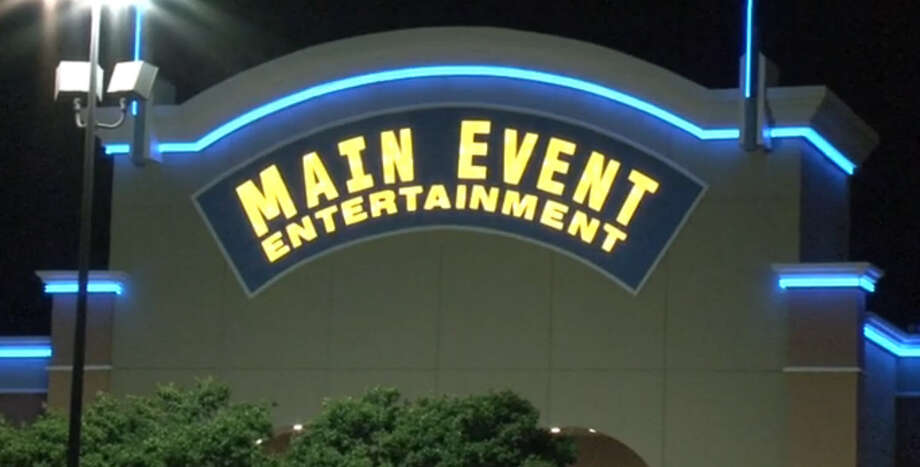 A 14-year-old is in serious condition after being shot outside Main Event Entertainment in Stafford late Saturday night. Photo: Tim Bristow, Metro Video
