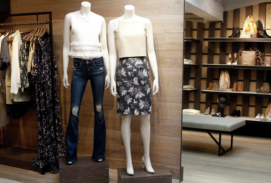 Intermix's outpost at Town & Country Village in Palo Alto features the latest trends from top labels. Photo: Sarah Rice / Special To The Chronicle / ONLINE_YES