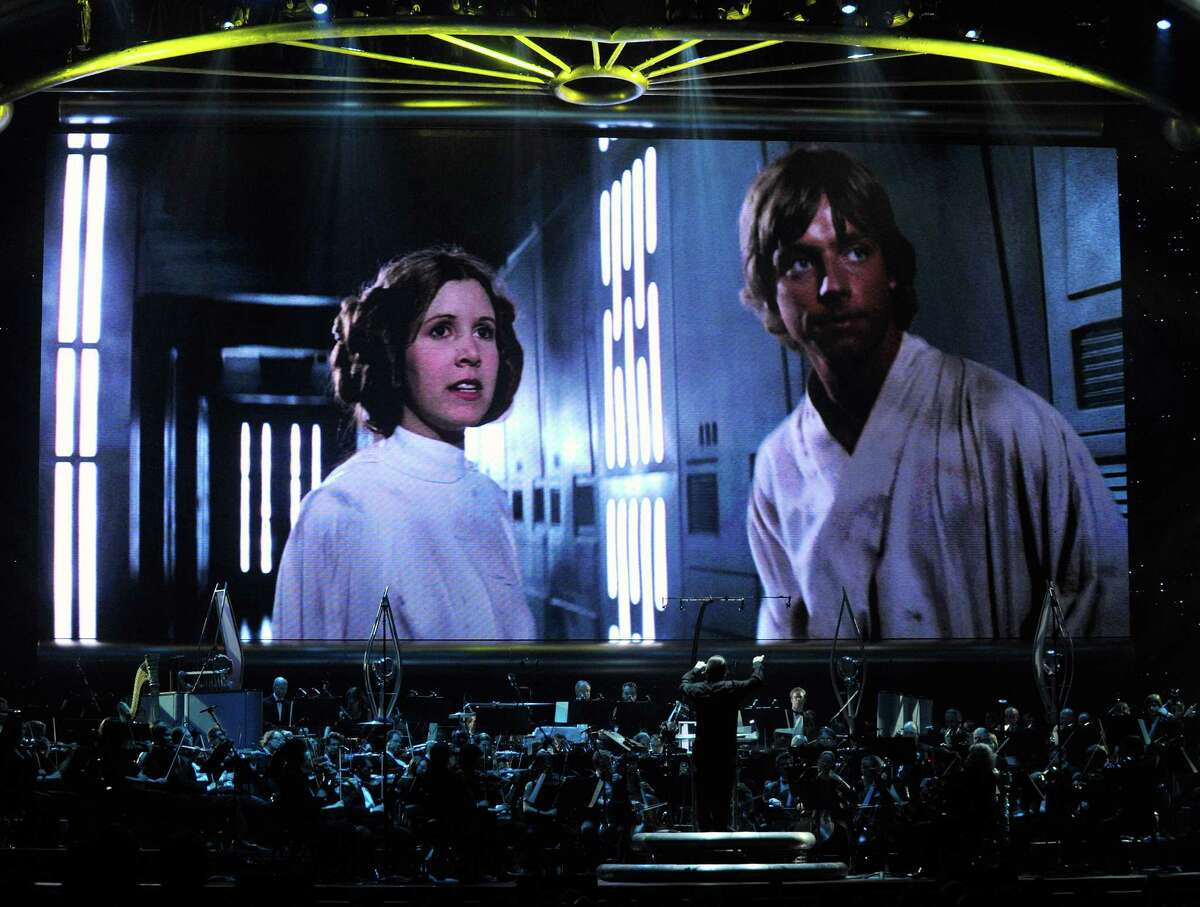Five years later, the world came to know Carrie Fisher as Princess Leia Organa in 'Star Wars: Episode IV -- a New Hope.'
