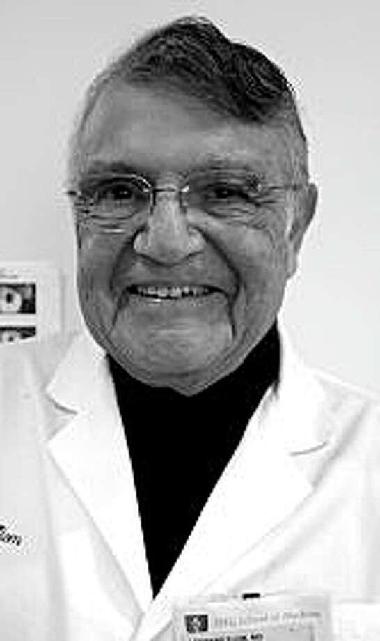 Dr. Leonard Flom of Westport, medical researcher and innovator. Photo: Contributed Photo / Westport News
