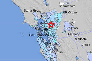 String of quakes near Concord rattles Bay Area - Photo
