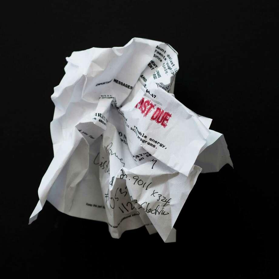 Studio shot of crumpled document Photo: Tetra Images /Getty Images /Tetra Images RF / Tetra images RF