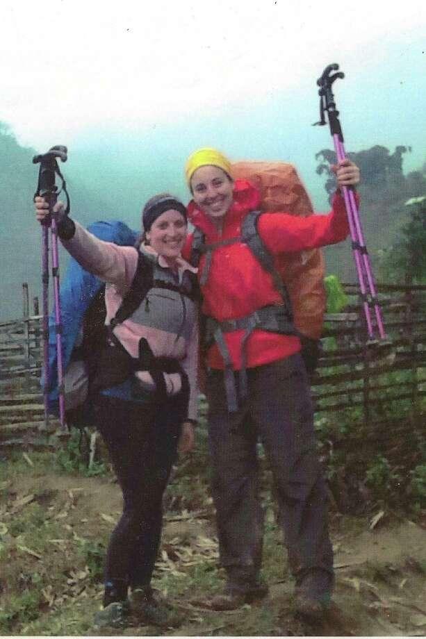 Debora Silberman, left, and Rachael Sufyan. Photo was taken while hiking in 2014 in Vietnam. Photo: Family Photo