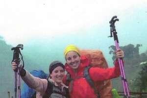 Debora Silberman, left, and Rachael Sufyan. Photo was taken while hiking in 2014 in Vietnam.