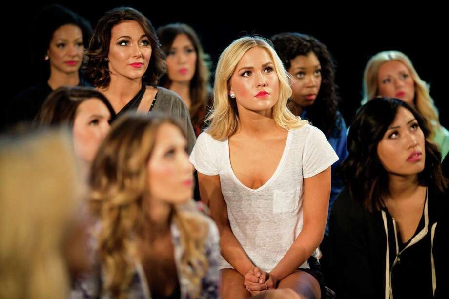 Contestants listen to Sea Gals director Sherri Thompson before taking on the final round of the Sea Gal auditions Sunday, May 3, 2015, at CenturyLink Field in Seattle. More than 100 women showed up to the first of three rounds on April 25; only 30 made the final cut to secure a place on the 2015 squad of Seattle Seahawks cheerleaders. Photo: JORDAN STEAD, SEATTLEPI.COM / SEATTLEPI.COM
