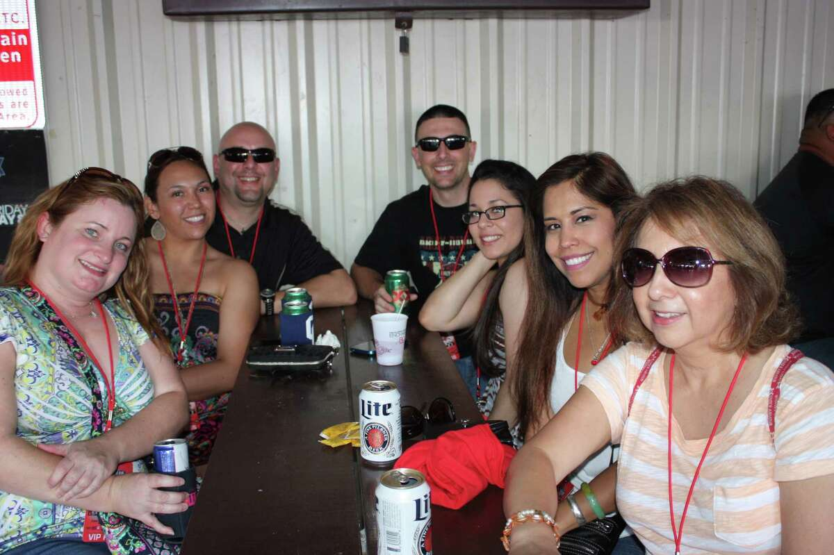 Fans of two San Antonio favorites chow down at the fifth annual Barbacoa & Big Red Festival at the R&J Music Pavilion on the South Side on Sunday, May 3, 2015.