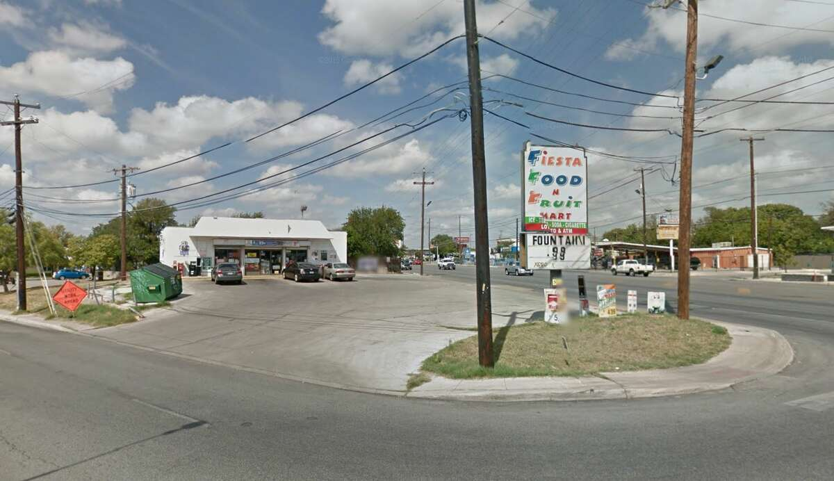 Fiesta Food N Fruit Mart: 107 Babcock Road, San Antonio, TX 78201 Date: 03/08/2018 Score: 76 Highlights: Packaged foods must be properly labeled (Capri Sun and Kool Aid Jammers not labeled to be sold individually); food-contact surfaces must be clean to sight/touch (ice machine); poisonous/toxic chemicals must be approved for commercial use; bags of ice must be properly labeled; soap, paper towels needed at handwashing sinks; food-contact surfaces must be clean to sight/touch (pickle tongs, storage container); ware washing machine not properly sanitizing dishes; equipment not in use must be removed from establishment; non-food contact surfaces must be clean to sight/touch (bagged ice freezer)
