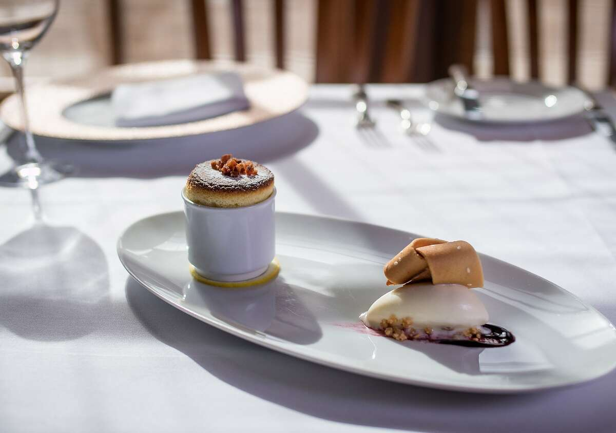 The Edam Cheese Souffle at La Follie in San Francisco, Calif., is seen on Saturday, March 21st, 2015.