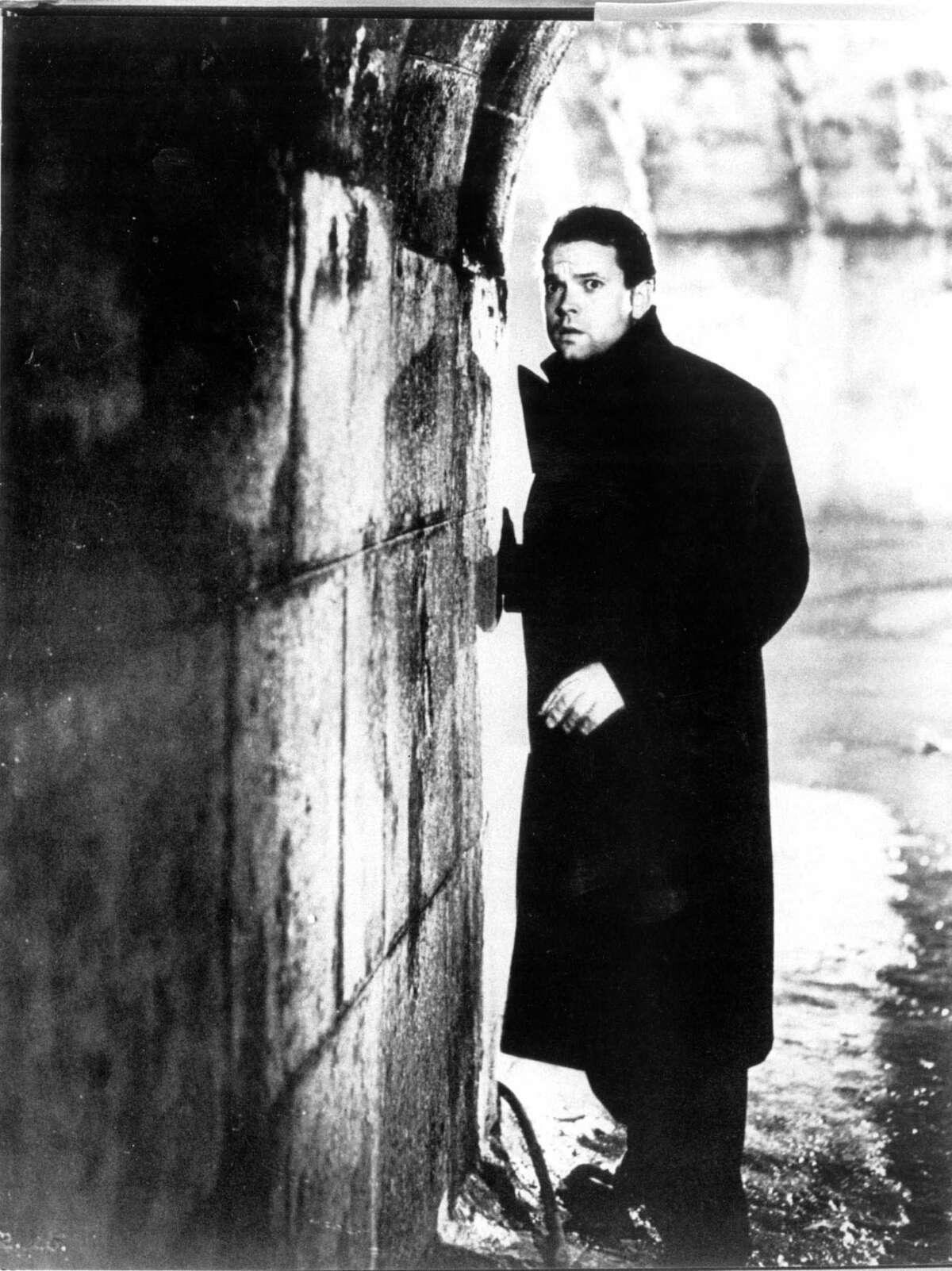 """Orson Welles played opportunist Harry Lime in """"The Third Man."""" As an actor, Welles could be occasionally great and sometimes heavy-handed."""