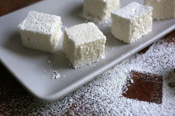 Amy Machnak tweaks a recipe from Tout Sweet's Yigit Pura for do-it-yourself marshmallows.