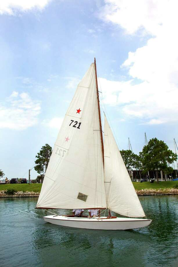 A Star Class Sailboat, the Flash II, was formerly owned by John F. Kennedy and his older brother Joseph. Photo: Heritage Auctions