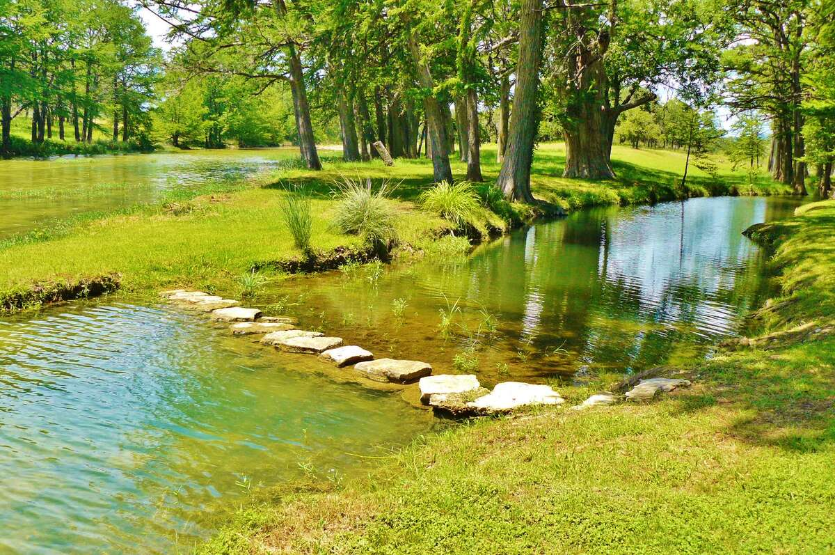 Whitetail Springs Ranch, a 305-acre Hill Country property on the Sabinal River,offers hunting, fishing and recreational swimming. Included in the $4.7 million asking price is a 4,000-square-foot house and two guest cabins.