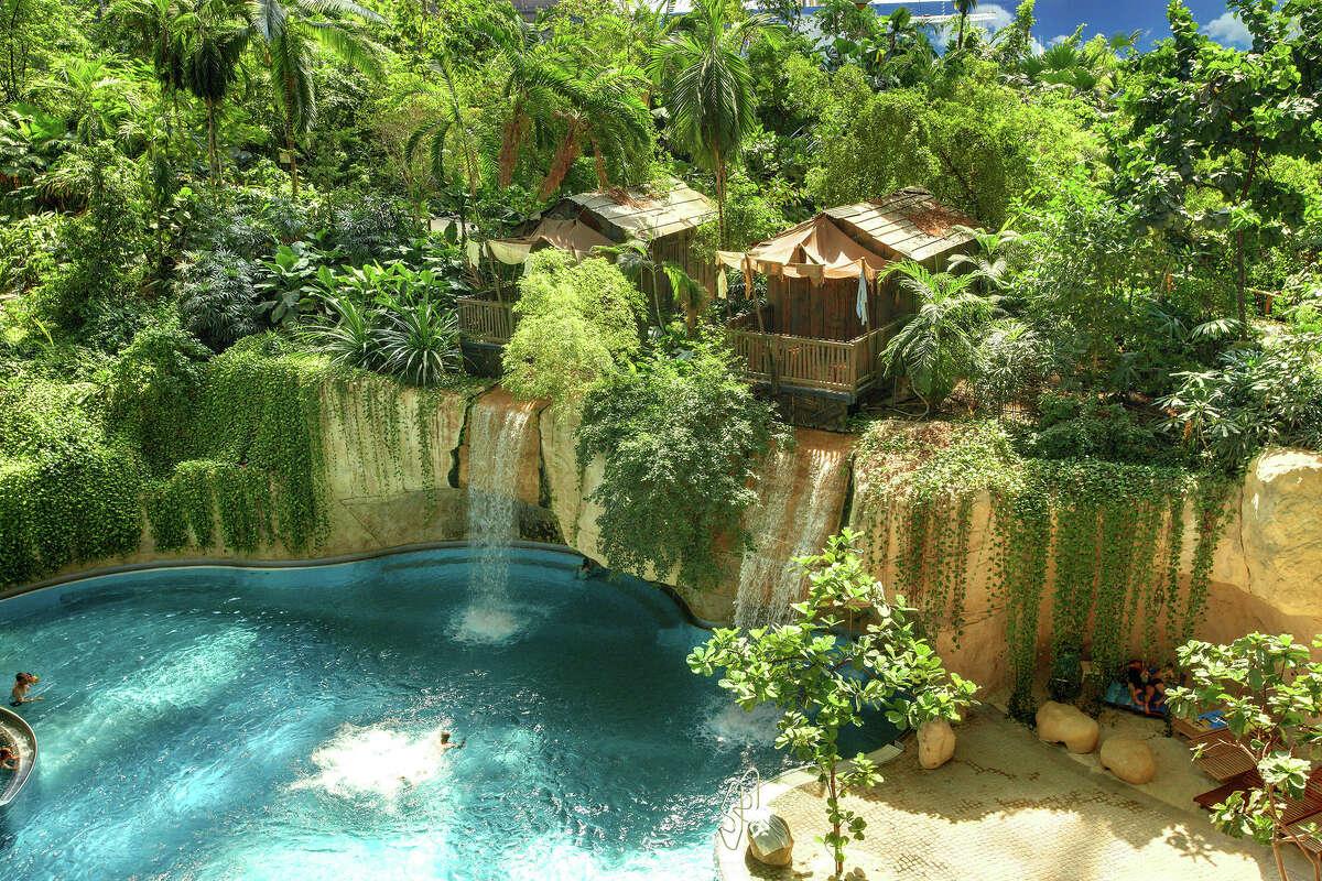 Tropical Islands Resort's Waterfall Lodge.