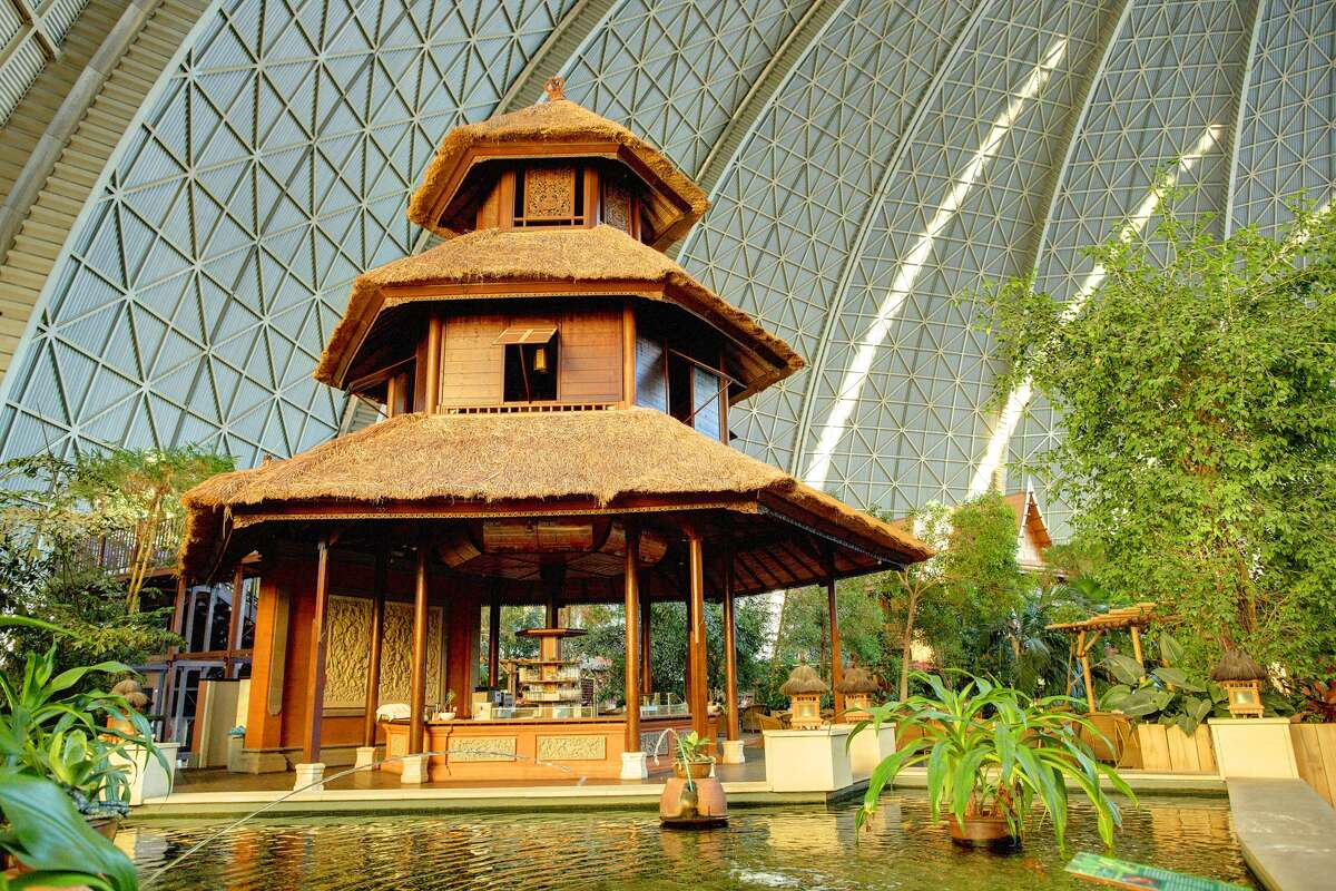 Tropical Islands Resort's Bali Pavilion.