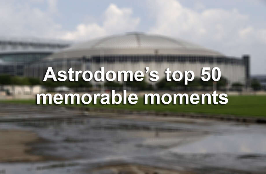 Astrodome's top 50 memorable moments Photo: Pat Sullivan, Associated Press