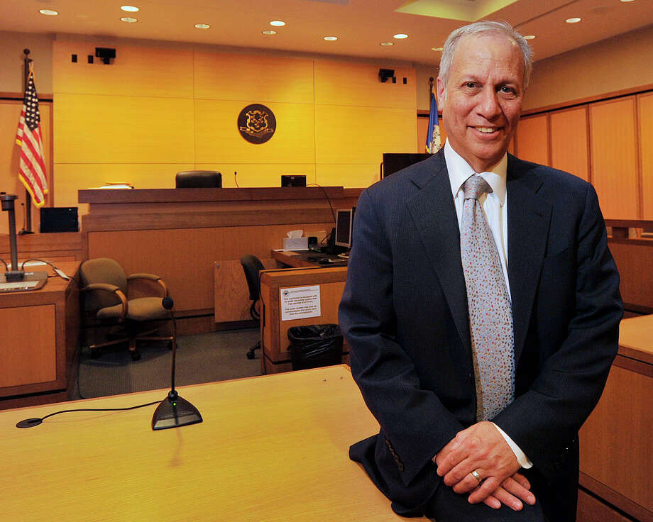 State's Attorney David I. Cohen is photographed at the Stamford Judicial District courthouse in Stamford, Conn., on Wednesday, April 8, 2015. Cohen has served in Stamford as a prosecutor for the past 36 years with 13 of those years as the State's Attorney. His last day is June 30. Photo: Jason Rearick / Stamford Advocate