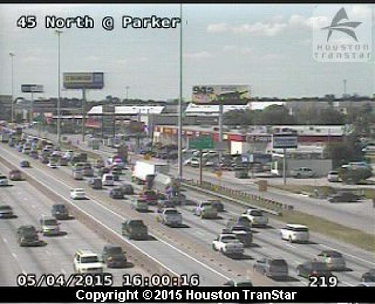 A heavy truck accident is causing headaches for northbound traffic on interstate-45 as the Monday rush hour begins.