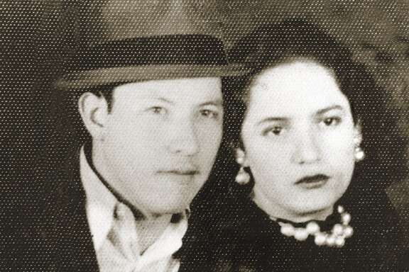 "Pedro ""Pete"" and Cruz Cortez, founders of Mi Tierra restaurant."