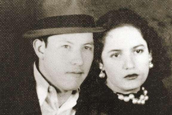 "Pedro ""Pete"" and Cruz Cortez, founders of Mi Tierra restaurant."