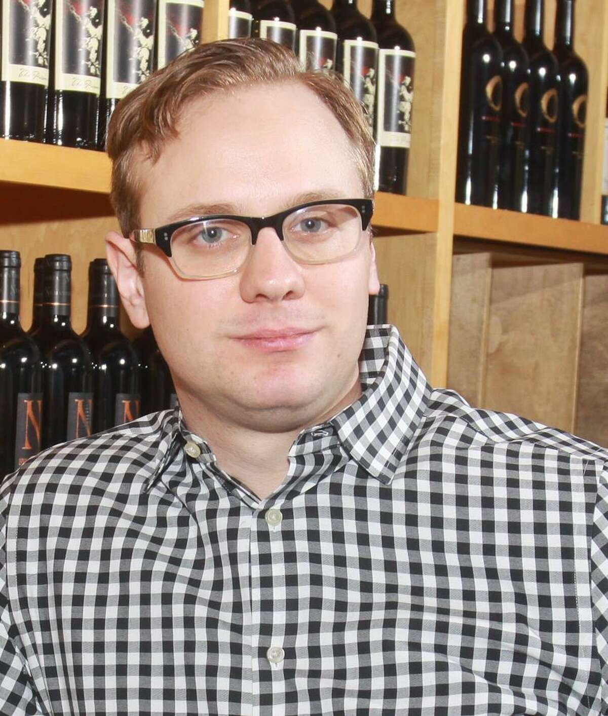 Marcus Gausepohl is the new wine guy at Mark's American Cuisine.