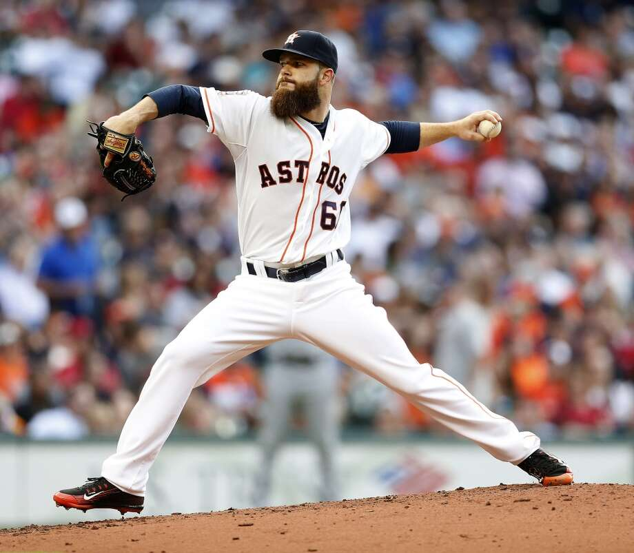 ASTROS5. Dallas Keuchel, No. 60Fans are waiting for him to regain his Cy Young form from last year, but the bearded lefty with his own section at Minute Maid Park has earned his ranking on this list with his work over the past couple seasons. Another guy who should be around for a while. Photo: Houston Chronicle