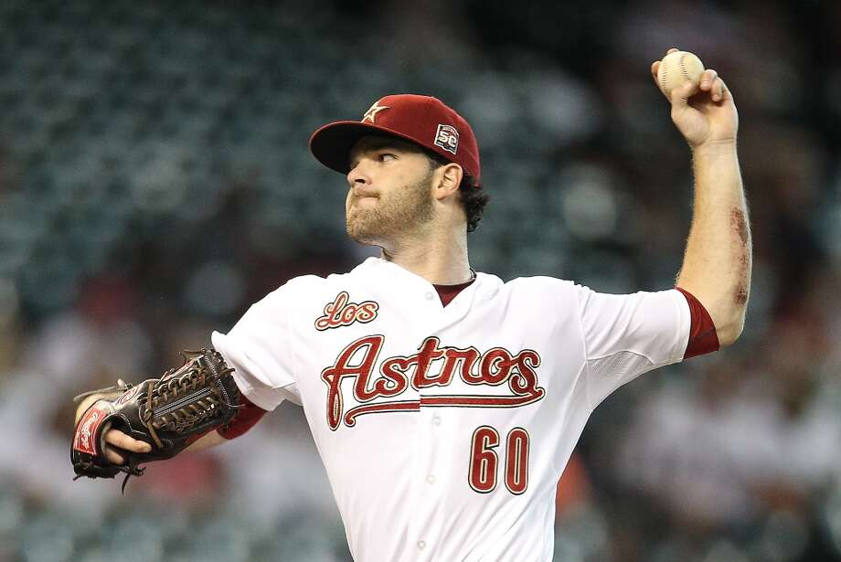 The only Dallas we likeDo they remember the weirdness that was Dallas Keuchel sans beard? Photo: Houston Chronicle