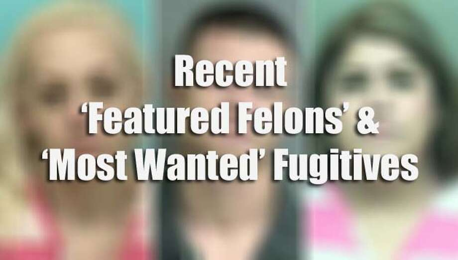 "Houston-area's 'most wanted' fugitivesThe following suspects have been recently listed as either Crime Stoppers of Houston's ""most wanted"" fugitives or among the ""featured felons"" by Montgomery County Crime Stoppers. Photo: Montgomery County Crime Stoppers"