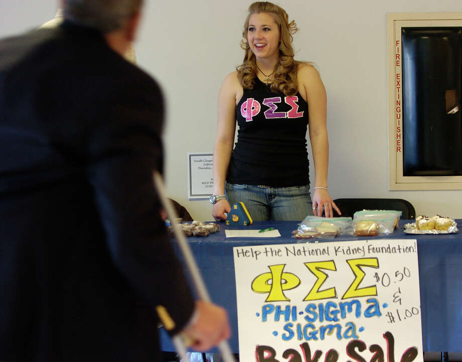 A member of Phi Sigma Sigma sorority's University of Colorado chapter is pictured in a file photo. The sorority has sued an unidentified former member, claiming she broke a contract with the sorority by leaking details about its rituals.