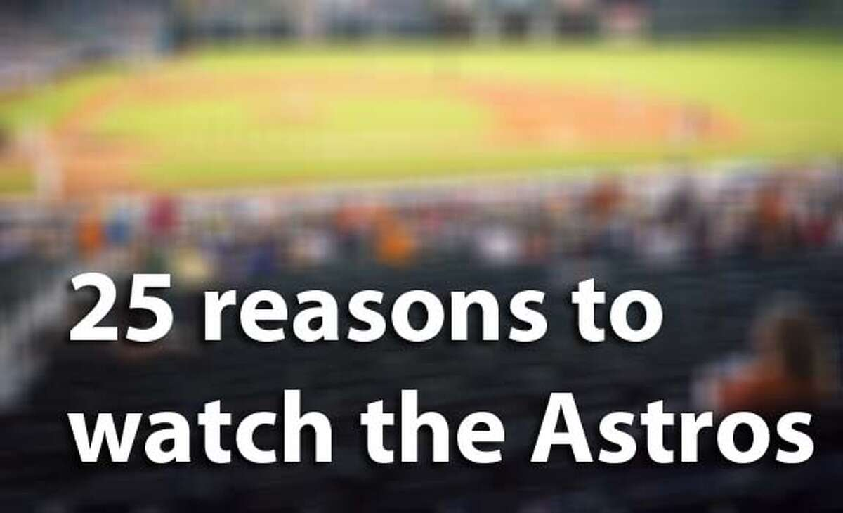 Don't be the last one to join the Houston Astros bandwagon. The 'Stros are playing unbelievable baseball right now. Here are 25 reasons why you should attend a game in May.