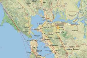 A magnitude 2.8 earthquake hit just south of Concord on Monday May 4, 2015 at 6:52 p.m.
