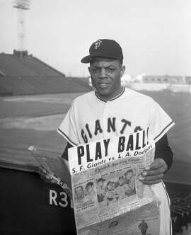 Willie Mays, 1965 - A Bay Area transplant who made his way to San Francisco alongside New York Giants, Mays won his second MVP award in 1965, blasting 52 home runs, including the 500th of his illustrious career.
