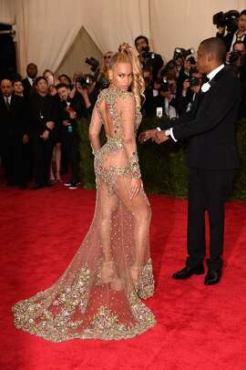 Beyonce attends the 'China: Through The Looking Glass' Costume Institute Benefit Gala at the Metropolitan Museum of Art on May 4, 2015 in New York City. (Photo by Dimitrios Kambouris/Getty Images)