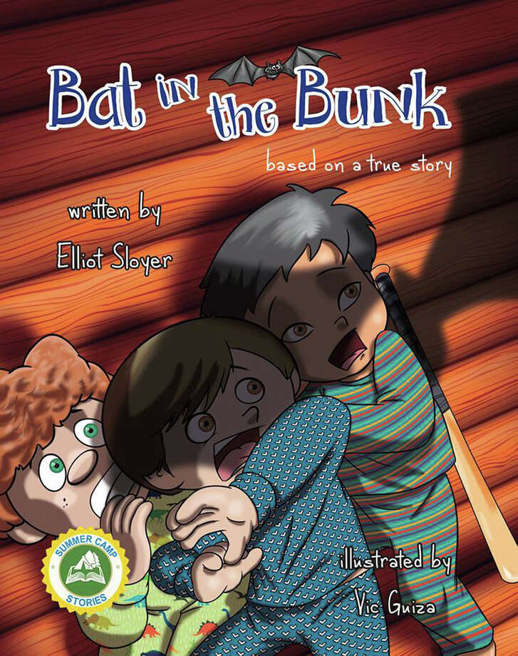 "After spending the last 30 years in the investment management business, hedge funder Elliot Sloyer decided he wanted to write kids books - so he did, creating his own series for ages 6+, Summer Camp Stories. Sloyer will officially kick off the release of the second book in the series, ""Bat in the Bunk,"" with a book signing at Elm Street Books in New Caanan on May 8. Photo: Contributed Photo / New Canaan News"