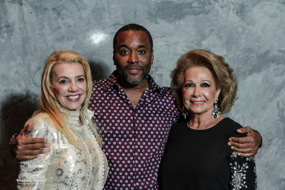 Marie Bosarge, from left, Lee Daniels, and Philamena Baird