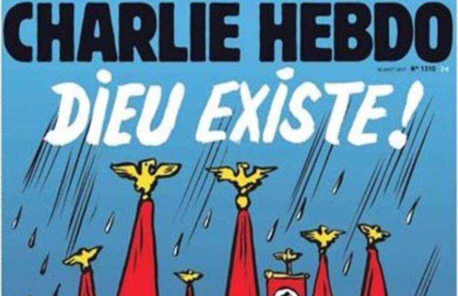 The cover of Charlie Hebdo.