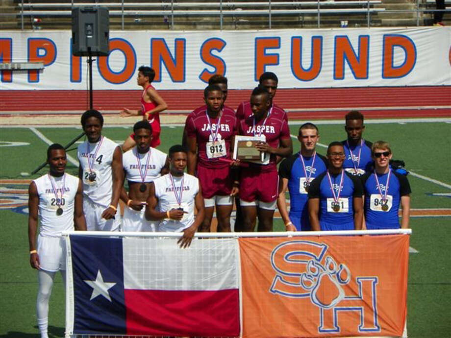 Ledale White, JaKeithan Adams, Tevin Sells and Dan Adams going to State. courtesy photo