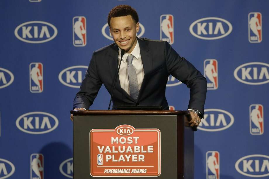 Stephen Curry has locked up the MVP award, but when it comes to  playing fantasy (i.e., delusional) basketball, LeBron James is king. Photo: Jeff Chiu, Associated Press