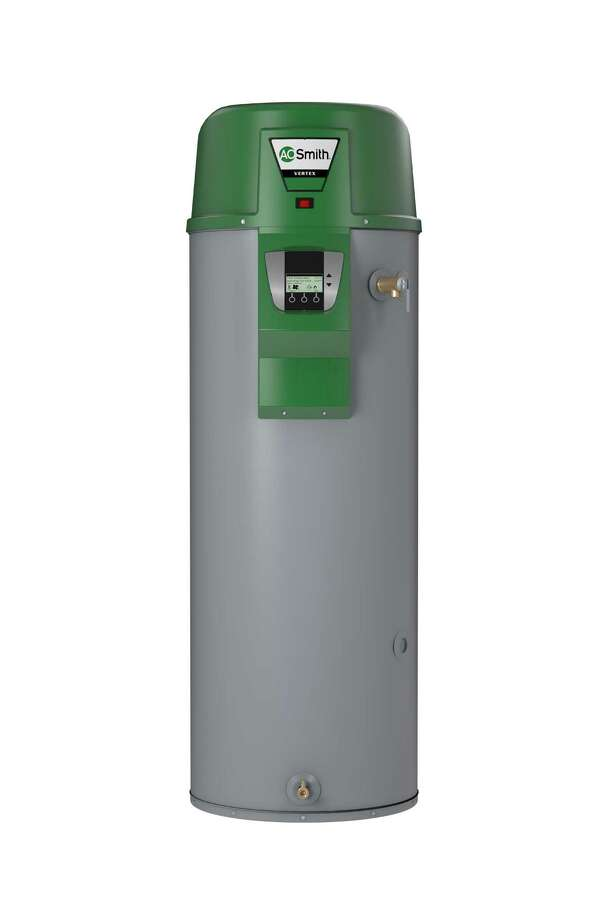 A residential gas condensing water heater like this one from A.O. Smith will be required for all new construction and renovations under new federally mandated energy-efficiency standards for units with a capacity of more than 55 gallons. Photo: Courtesy A.O. Smith Co.