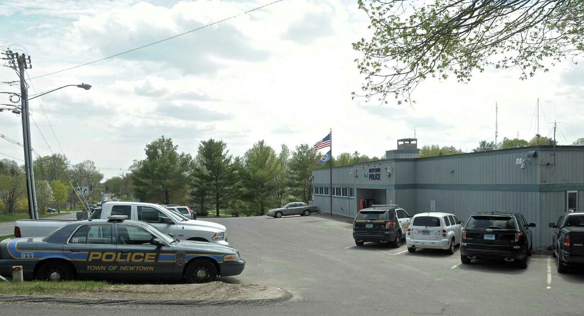 The Newtown Police Department, on Route 25, in Newtown, Conn, on Tuesday, May 5, 2015.
