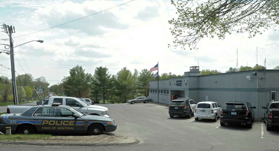 The Newtown Police Department, on Route 25, in Newtown, Conn, on Tuesday, May 5, 2015. Photo: H John Voorhees III / The News-Times