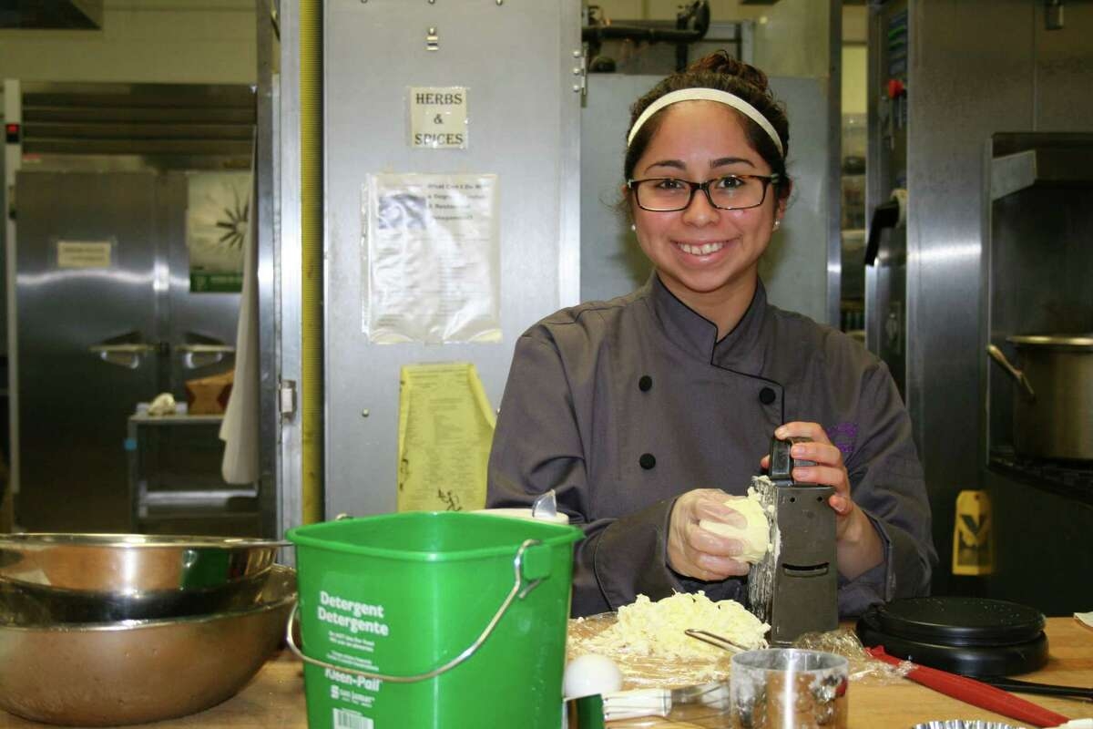 Davis High School student Rebecca Gonzales will compete in Pro-Start competition sponsored by the National Restaurant Association.