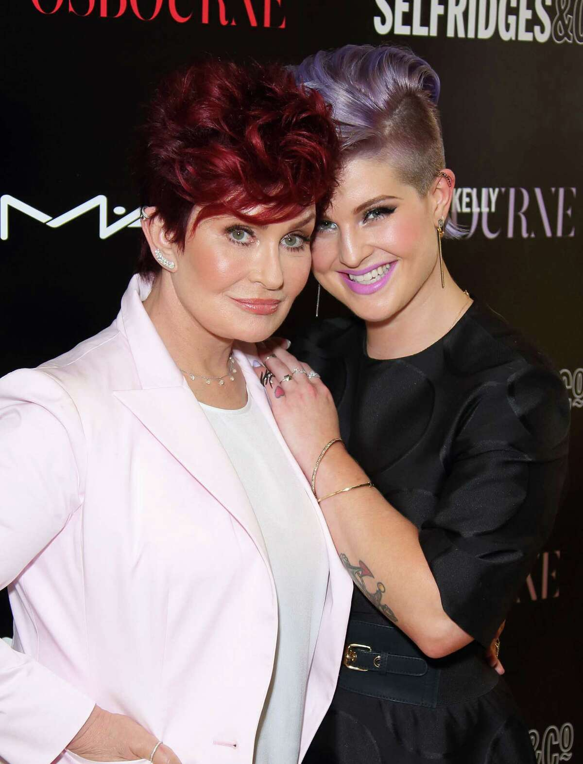 Sharon (born in 1952) and Kelly Osbourne (born in 1984)