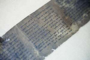 Oldest complete copy of 10 Commandments displayed in Israel - Photo