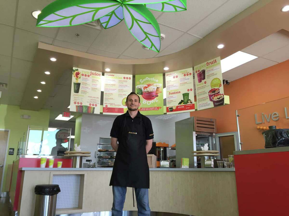 Khaled Ibrahim is owner of a Juice It Up! store that opened April 24 in in the Pearland Market Shopping Center at 2708 Pearland Parkway in Pearland.